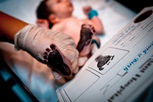 empreintes bébé